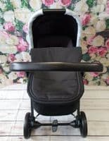 My Babiie MAWMA Grey Marble Travel System Pram Carrycot- Nicole 'Snooki' Polizzi - In Store Purchase